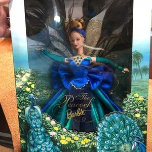 Collectible The Peacock Barbie.